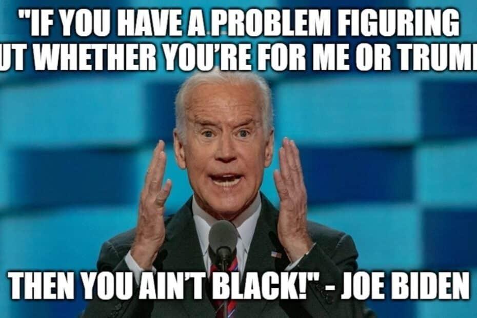 Joe Biden is a Real Racist