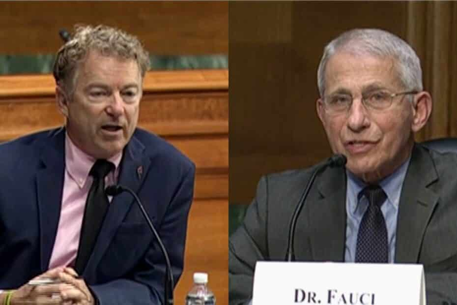 Rand Paul Grilles Anthony Fauci over COVID-19 Origin
